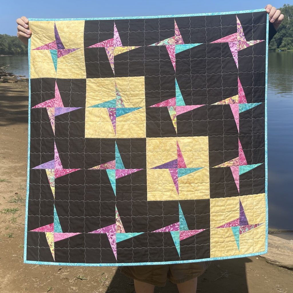 This image has an empty alt attribute; its file name is Butterfly-Blooms-Preeti-Harris-quilt-3-1024x1024.jpeg